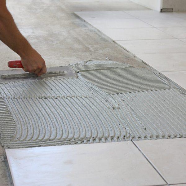 Tiling Floor & Wall